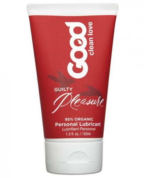 Good Clean Love Guilty Pleasure Lubricant Cinnamon Vanilla 1.5oz