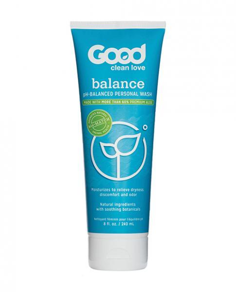Good Clean Love Balance Moisturizing Wash 8oz