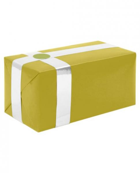 Gift Wrapping For Your Purchase Gold White Ribbon Extra Day To Ship