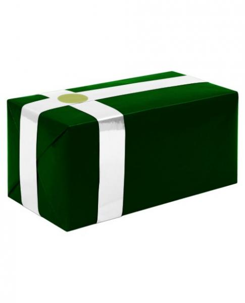 Gift Wrapping For Your Purchase Forest Green White Ribbon Extra Day To Ship