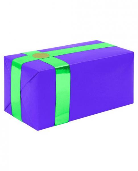 Gift Wrapping For Your Purchase Purple Teal Ribbon Extra Day To Ship
