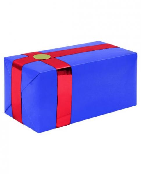 Gift Wrapping For Your Purchase Blue Red Ribbon Extra Day To Ship