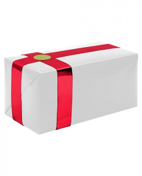 Gift Wrapping For Your Purchase White Red Ribbon Extra Day To Ship
