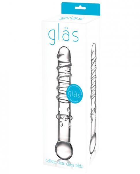 Glas Callisto Clear Glass Dildo