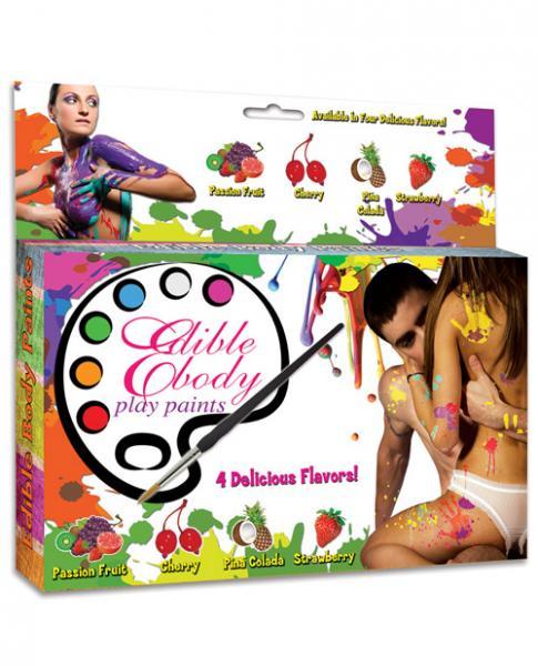 Edible Body Play Paints