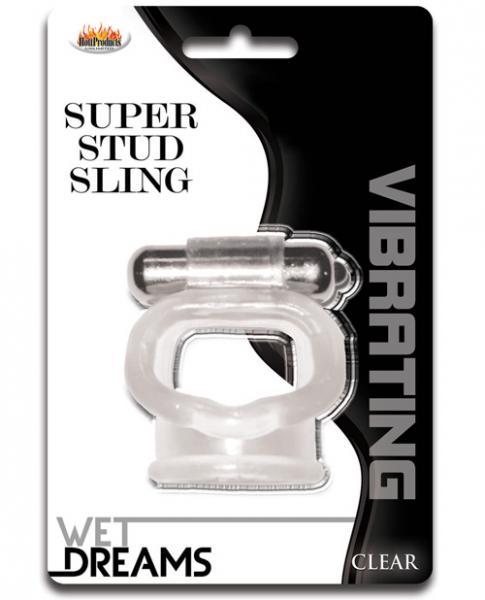 Wet Dreams Super Stud Sling Clear