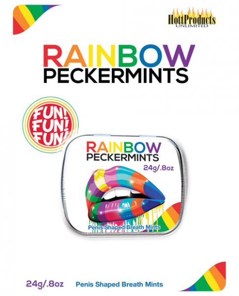 Rainbow Peckermints Adult Candies