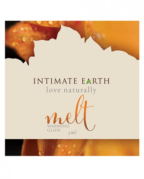Intimate Earth Melt Warming Glide 1oz Foil Pack