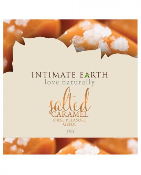 Intimate Earth Salted Caramel Flavored Glide Foil .10oz