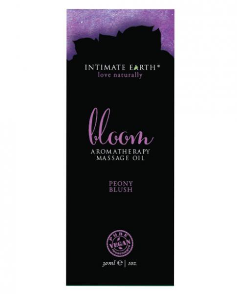 Intimate Earth Bloom Massage Oil Foil 1oz