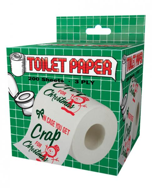 In Case You Get Crap For Christmas Toilet Paper