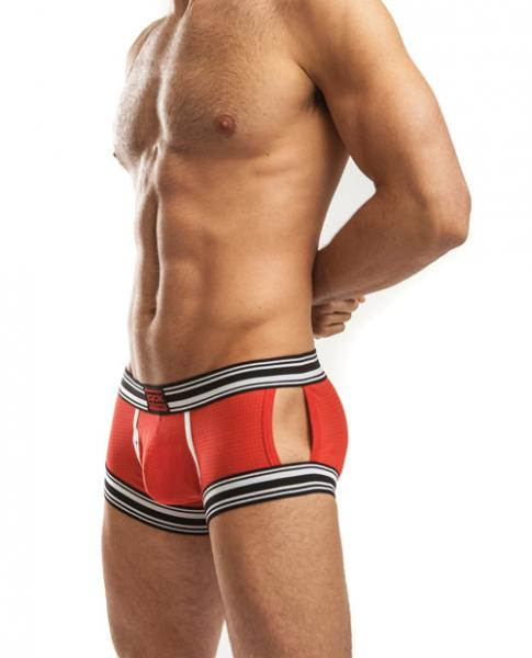 Jack Adams Sport Tek Trunks Red Large
