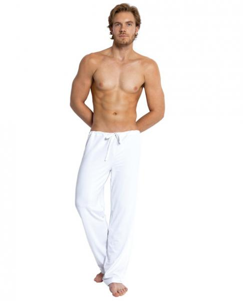 Jack Adams Relaxed Pants White Medium