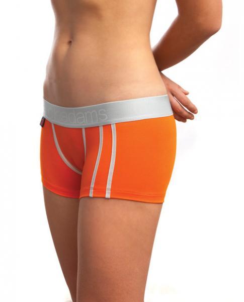 Jack Adams Women's Lux Modal Boyshorts Orange XL