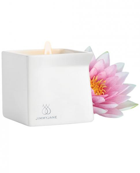 Afterglow Natural Massage Candle Pink Lotus