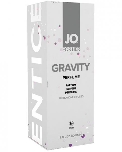 JO Gravity Perfume Pheromone Infused For Her 3.4oz
