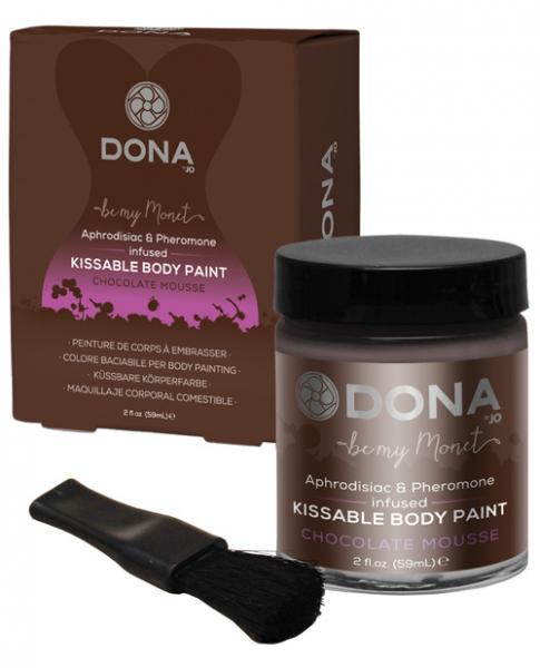 Dona Body Paint Chocolate Mousse 2oz