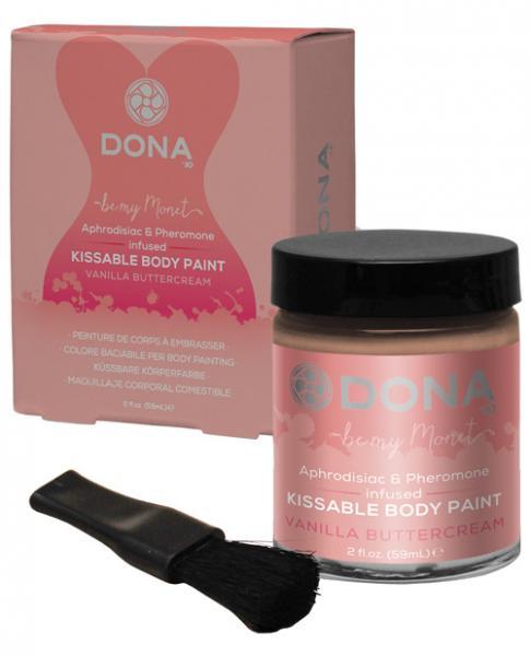 Dona Body Paint Vanilla Buttercream 2oz