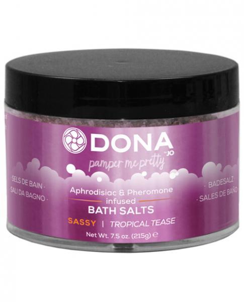 Dona Bath Salt Sassy Tropical Tease 7.5oz