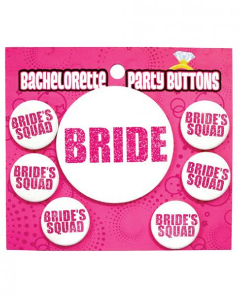 Bachelorette Party Button - Bride Bride's Squad