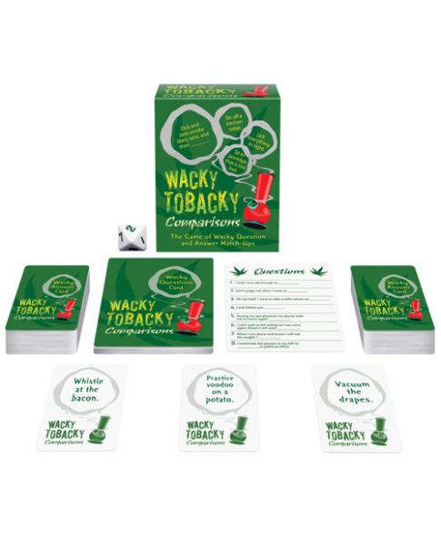 Wacky Tobacky Comparisons Games