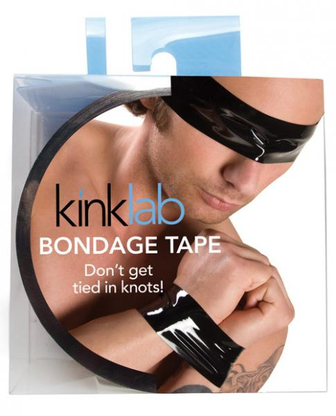 Kinklab Male Bondage Tape - Black