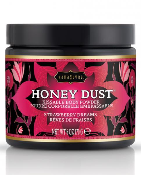 Kama Sutra Honey Dust Strawberry Dreams 6oz