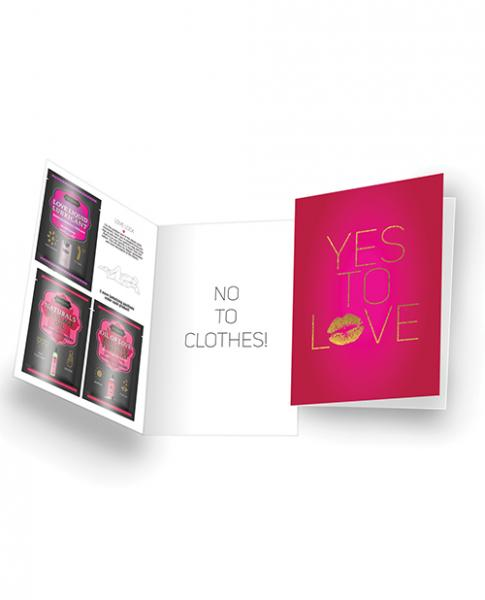 Kama Sutra Naughty Notes Greeting Cards Yes To Love
