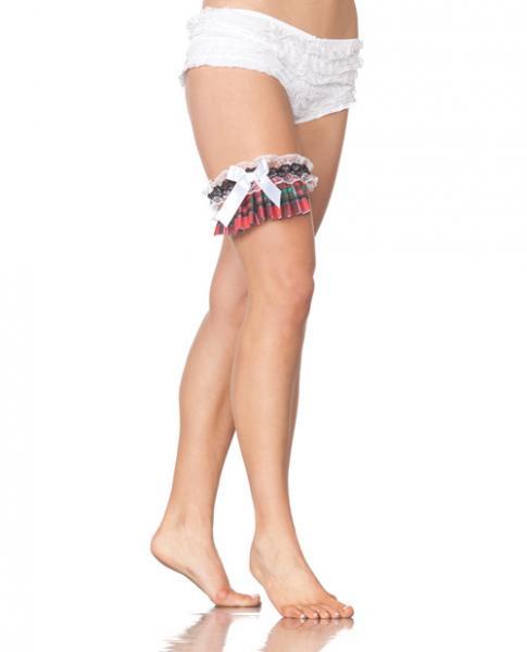 School Girl Leg Garter Costume Accessory