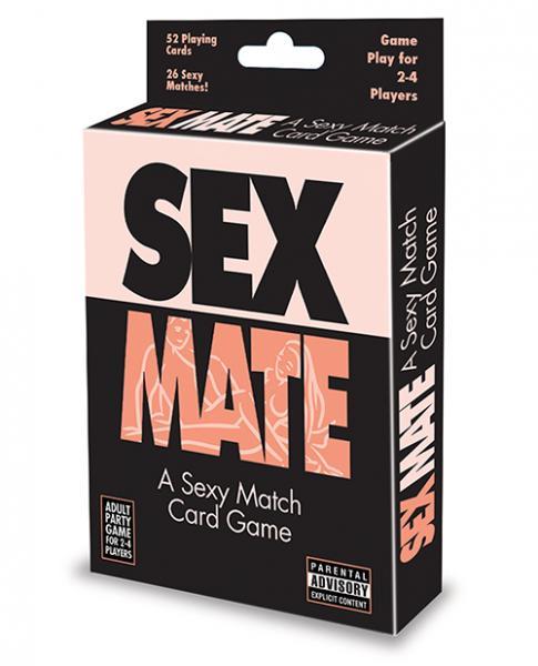 Sex Mate A Sexy Match Card Game