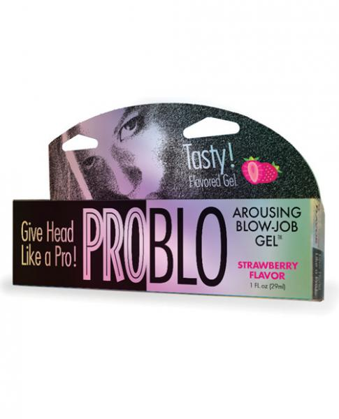 Problo Arousing Blow Job Gel Strawberry 1oz
