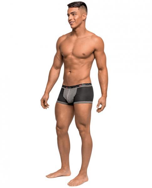 Reversible Dual Toned Mini Shorts Black Small