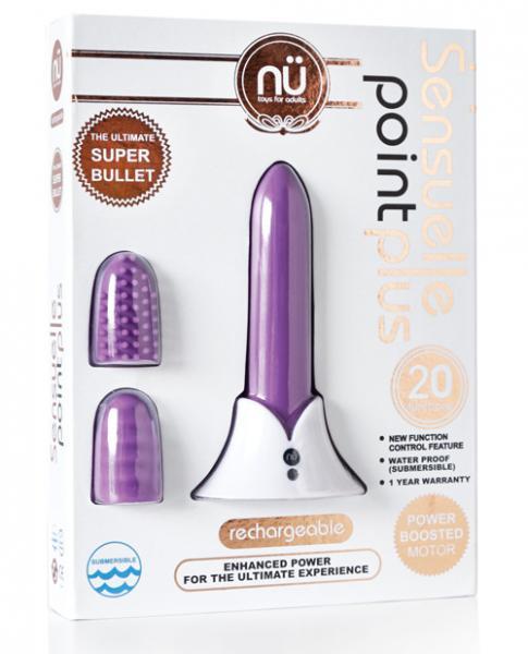 Sensuelle Point Plus Rechargeable Bullet Purple