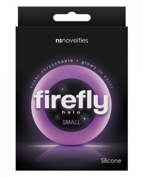 Firefly Halo Small Cock Ring Purple
