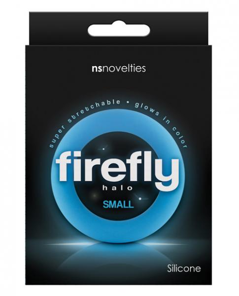 Firefly Halo Small Cock Ring Blue