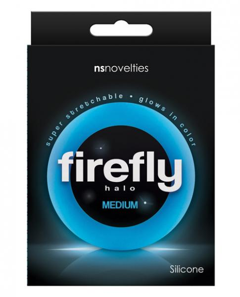 Firefly Halo Medium Cock Ring Blue