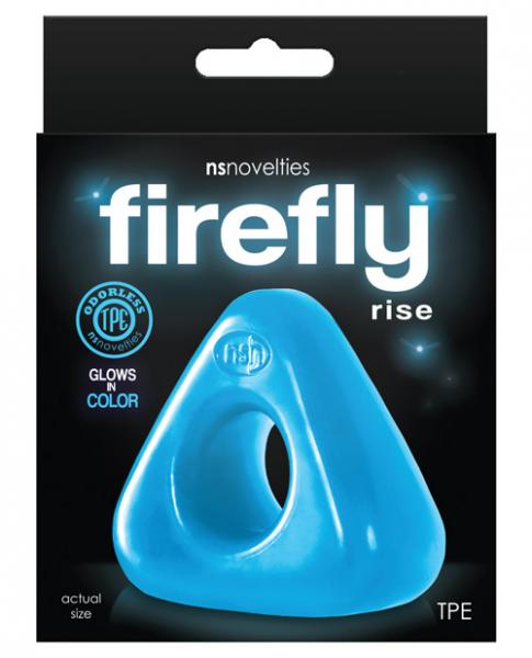 Firefly Rise Cock Ring Blue