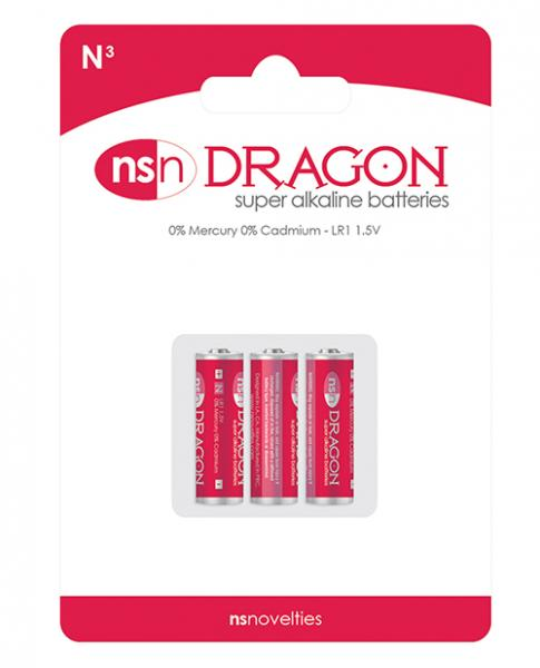 Dragon Alkaline Batteries Size N 3 Pack