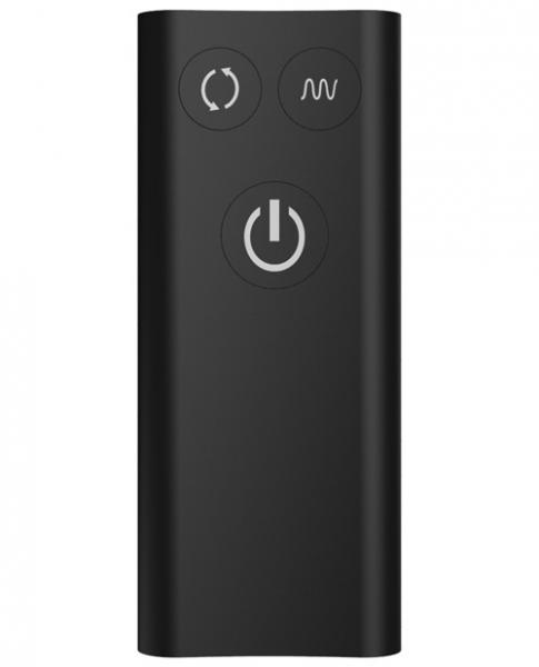 Nexus Revo Stealth Rotating Prostate Massager Black
