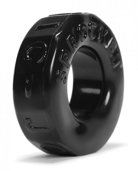 Sprocket Cock Ring Black