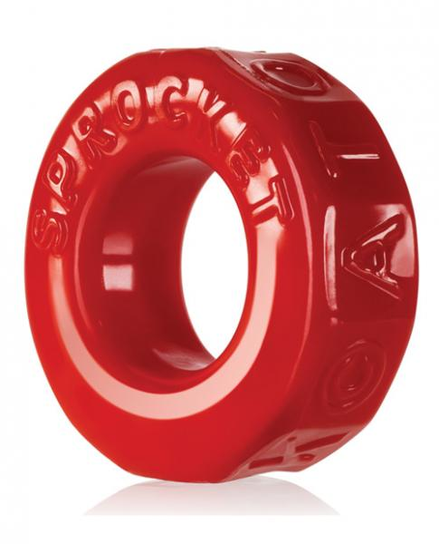 Atomic Jock Sprocket Cock Ring  Red