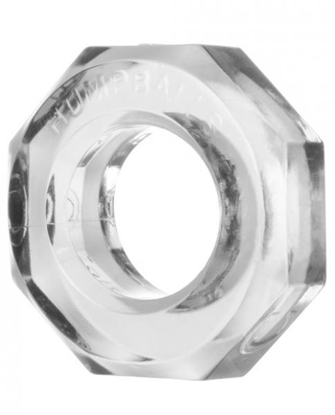 Hump Balls Cock Ring Clear