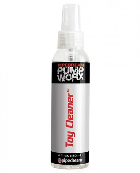 Pump Worx Toy Cleaner 4 fluid ounces