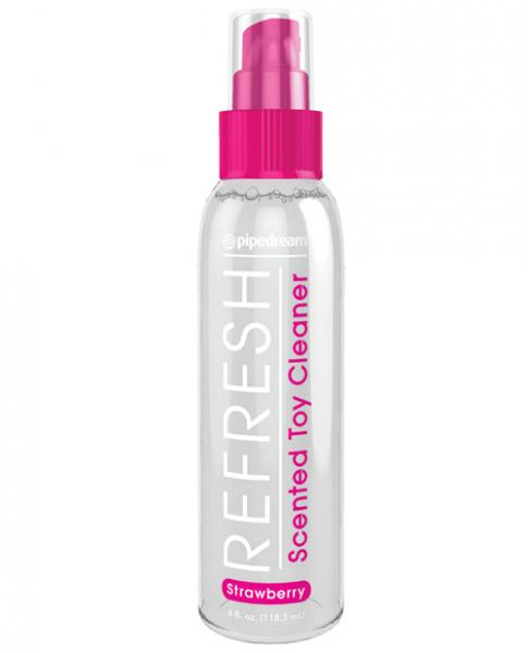 Refresh Scented Toy Cleaner Strawberry 4 fluid ounces