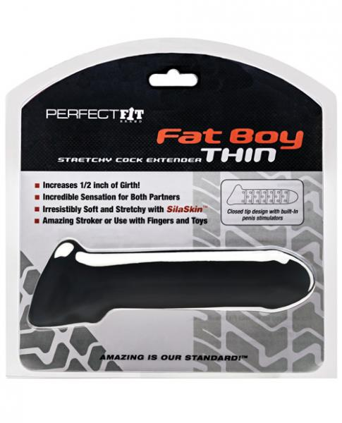 Perfect Fit Fat Boy Extender Thin - Black