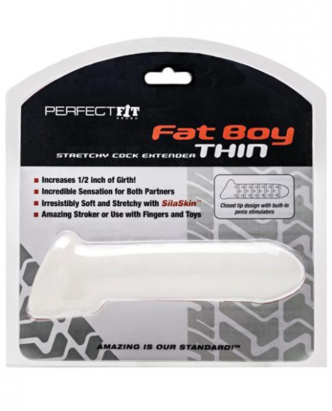 Fat Boy Thin Standard Extender - Clear