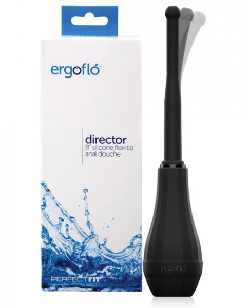 Ergoflo Director Black Anal Douche