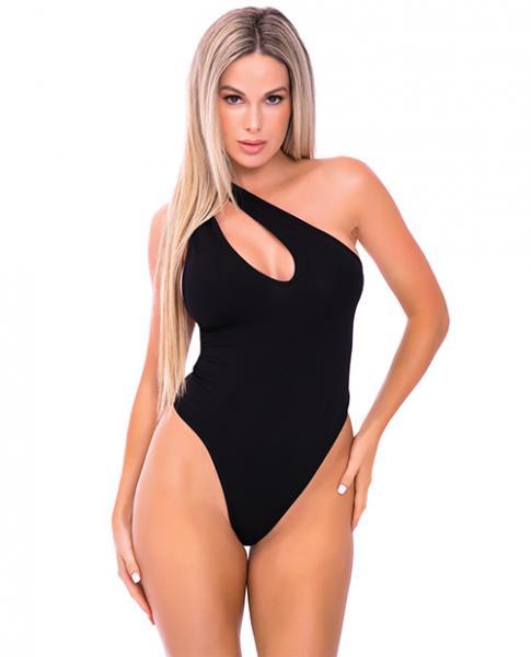 Off The Wall Seamless Bodysuit Black M/L