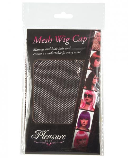Mesh Wig Cap Black