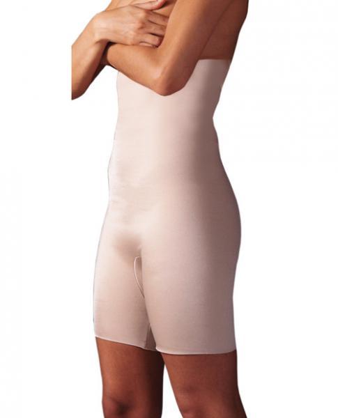 Rago Shapewear Ultra Shaper Body Slimmer Beige Lg